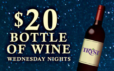 $20 Wine Wednesdays