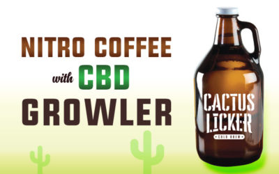 Nitro Coffee with CBD Growler