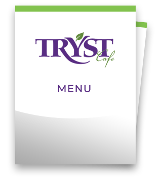 Tryst Cafe Menu