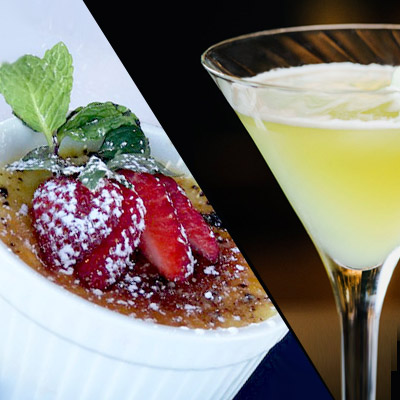 Tryst Cafe Happy Hour & Dessert Menu