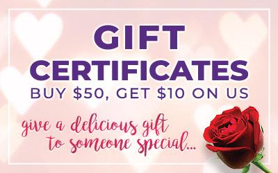 Valentine's Gift Certificate